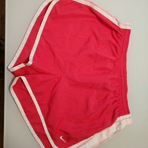 Nike Womens Running Shorts-Pink